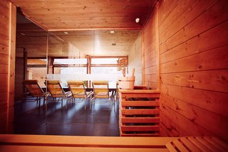 Wellness in der Sauna vom Am Holand