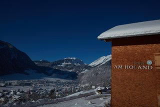 Hotel Am Holand im Winterparadies Au-Schoppernau